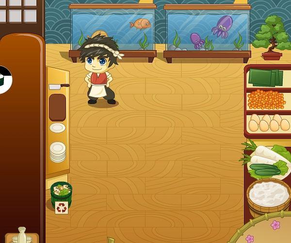 Praca w restauracji Sushi
