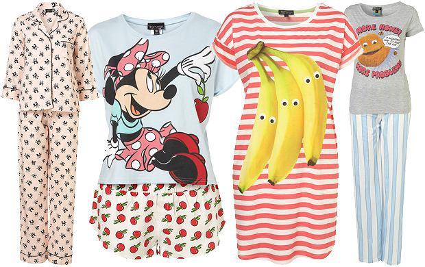 Wzorzyste piżamy TopShop