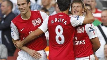 Mikel Arteta w barwach Arsenalu