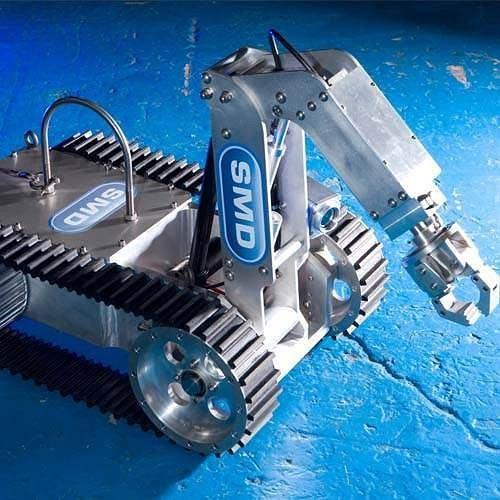 Podmorski robot górniczy