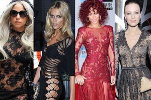 Anja Rubik, Rihhana, Magdalena Boczarska, Lady Gaga.