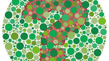 Daltonizm - zaburzenie rozpoznawania barw