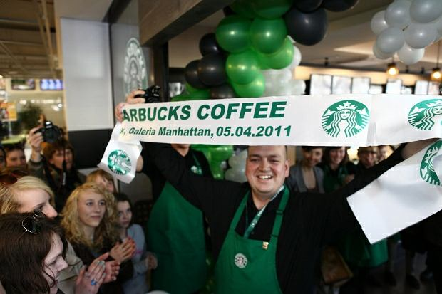 Otwarcie kawiarni Sturbucks w Gdyni
