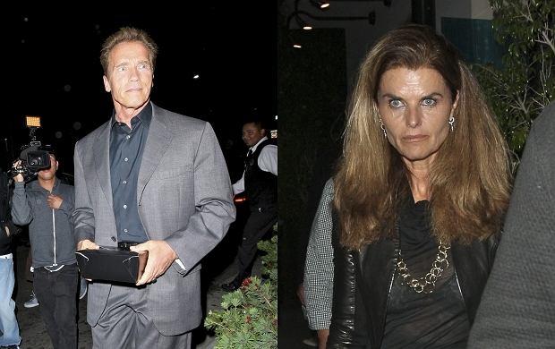Arnold Schwarzenegger, Maria Shriver.