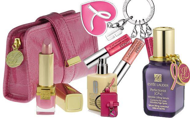 Kampania Estee Lauder do walki z rakiem piersi