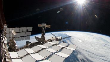 """""""Widoczek"""" z Międzynarodowej Stacji Kosmicznej. Jeden z wielu"""