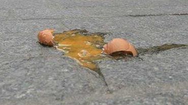 Rozbite jajko