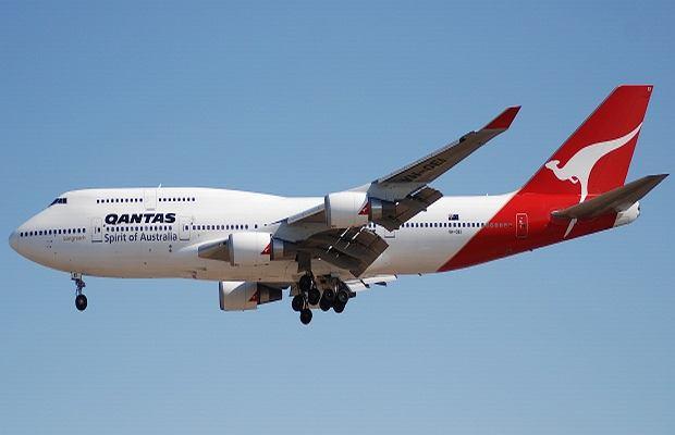 Boeing 747 linii Quantas.