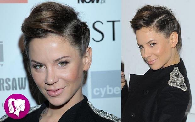 Ciekawa fryzura Natalii Lesz