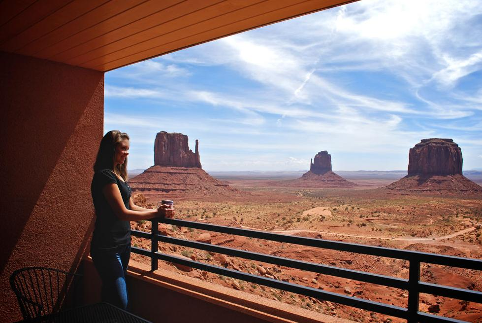 Hotel View, Monument Valley, Utah