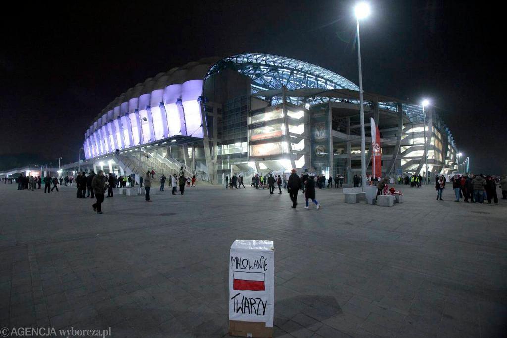 Stadion Miejski w Poznaniu, jedna z aren Euro 2012. Tu swoje mecze rozgrywają zarówno Lech, jak i I-ligowa Warta
