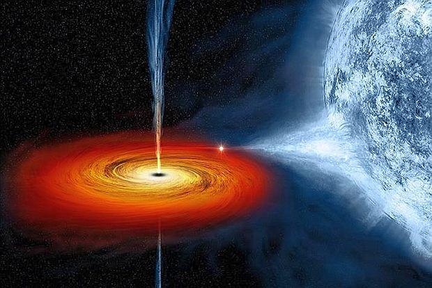 artystyczna wizja Cygnus X-1