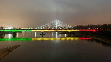 Iluminacja Mostu Średnicowego