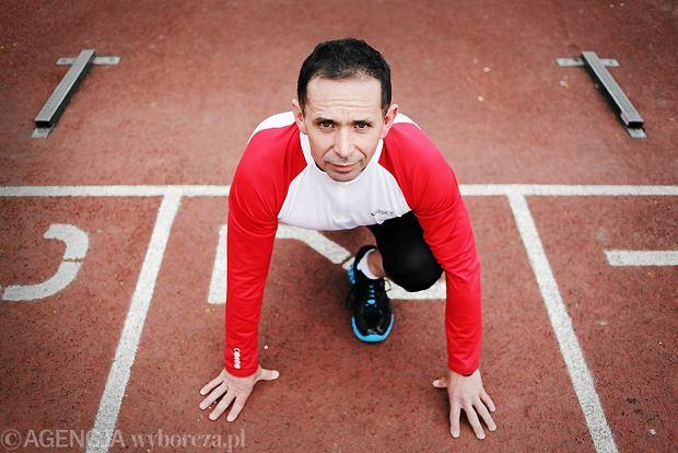 Tomasz Manikowski,biega maratony, 2011 r.