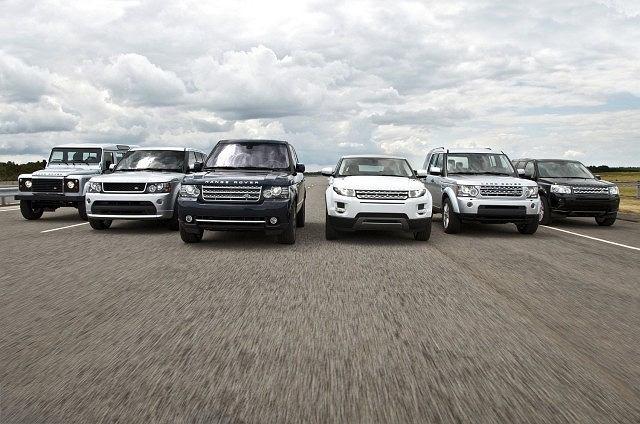 Gama modeli Land Rover / Range Rover