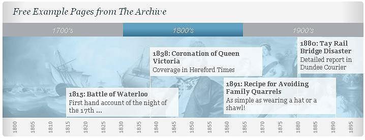 Cztery miliony zeskanowanych stron z brytyjskich gazet z XVIII i XIX wieku