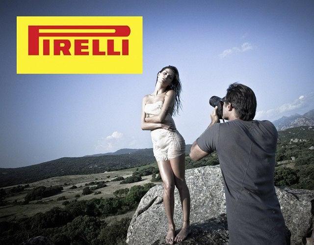 Kalendarz Pirelli 2012