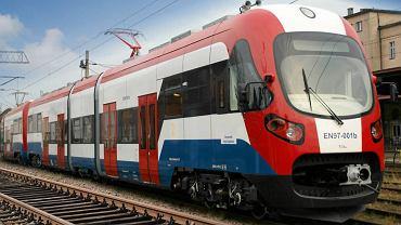 Pociąg WKD