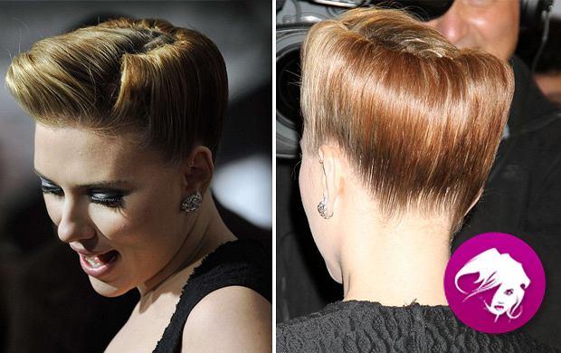Modna retro fryzura w stylu Scarlett Johansson