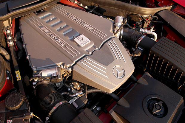 Mercedes SLS AMG, fot. Michał Dek