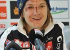 Dzielny Hildziak uśmiechał się na konferencji prasowej