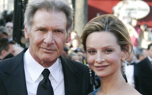 "FILE - In this May 18, 2008 file photo, American actor Harrison Ford and his girlfriend Calista Flockhart arrive for the premiere of the film ""Indiana Jones and the Kingdom of the Crystal Skull"" during the 61st International film festival in Cannes, southern France. Ford and Flockhart finally have tied the knot, in a wedding presided over by New Mexico's governor. Gov. Bill Richardson confirmed to The Associated Press on Wednesday June 16, 2010, that the couple, who have been together for several years and got engaged last year, were married at the governor's mansion in Santa Fe on Tuesday.  (AP Photo/Francois Mori, File)"