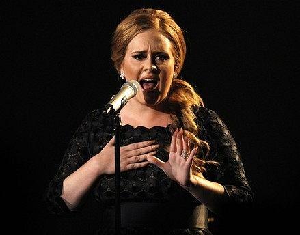 Adele - najbardziej popularny muzyk w Zjednoczonym Królestwie w 2011 roku