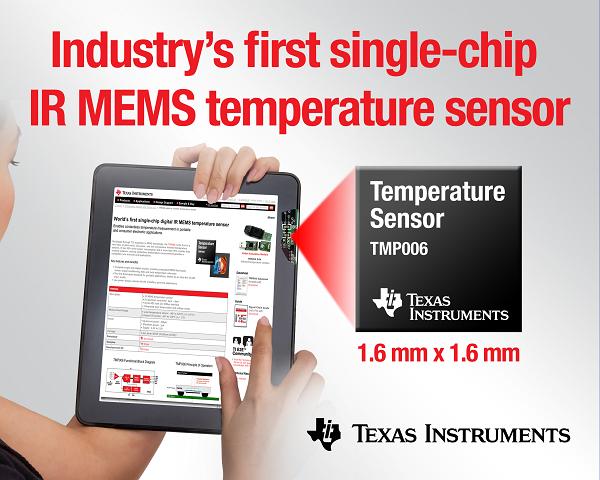 Zastosowanie czujnika temperatury TMP006