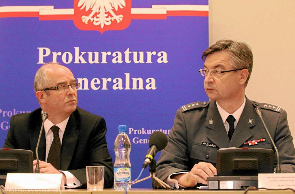 Andrzej Seremet (po lewej) i Krzysztof Parulski