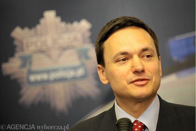 Szef MSW Jacek Cichocki