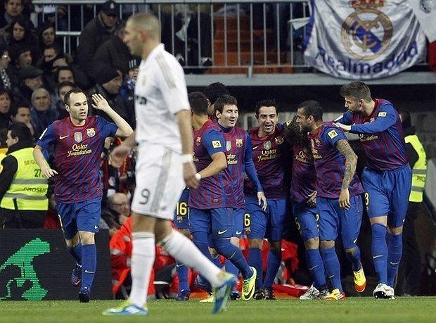 Real wciąż nie może pokonać Barcelony