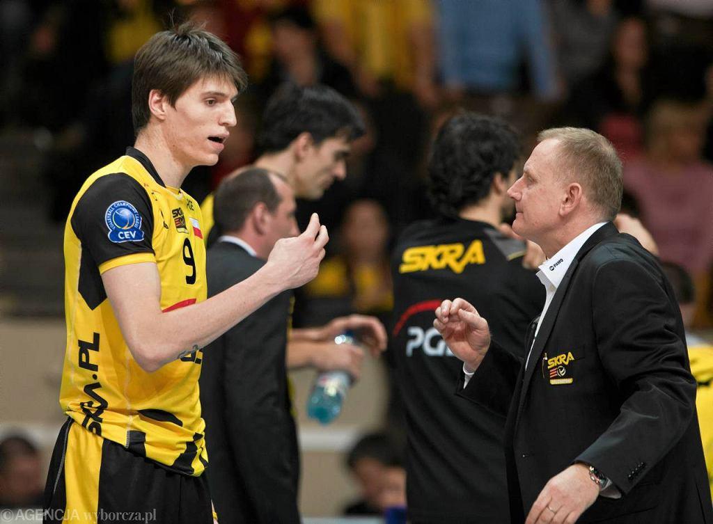 Jacek Nawrocki i Konstantin Cupković