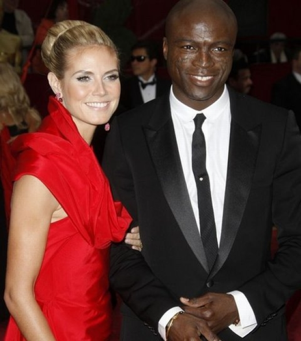 Mandatory Credit: Photo by Rex Features ( 739788eq )  Heidi Klum and Seal  80th Annual Academy Awards Arrivals, Los Angeles, America - 24 Feb 2008