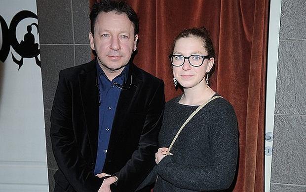 Zbigniew Zamachowski z córką Marią Zamachowską.
