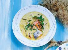 Orzeźwiająca zupa (na rybnym wywarze) - ugotuj
