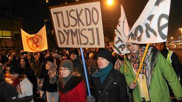 Protest przeciwko ACTA we Wrocławiu