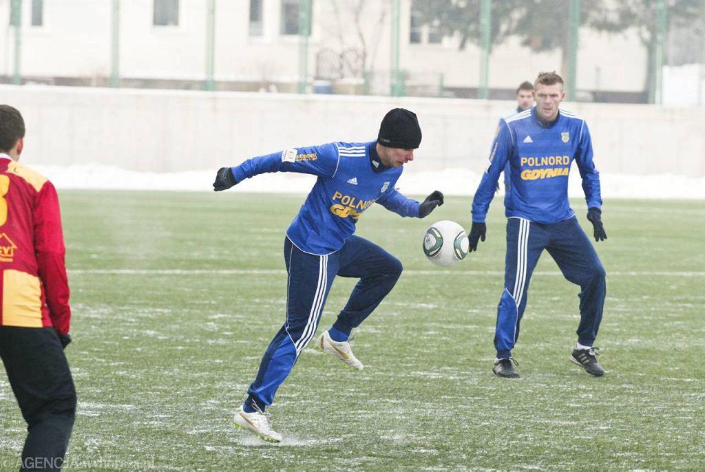 Piłkarze Arki Gdynia wygrali w sparingu z Chojniczanką 3:2