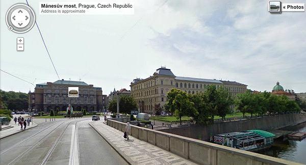 Praga - Google Street View