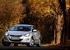 Hyundai Elantra - test   Za kierownicą