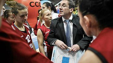 Trener Jacek Winnicki