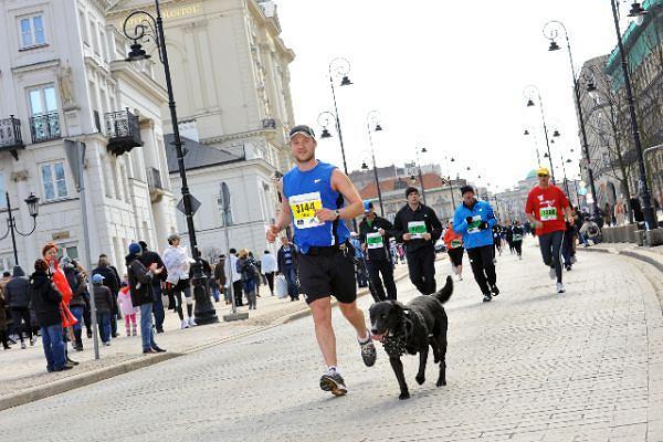 6. Półmaraton Warszawski - Filip i Eto