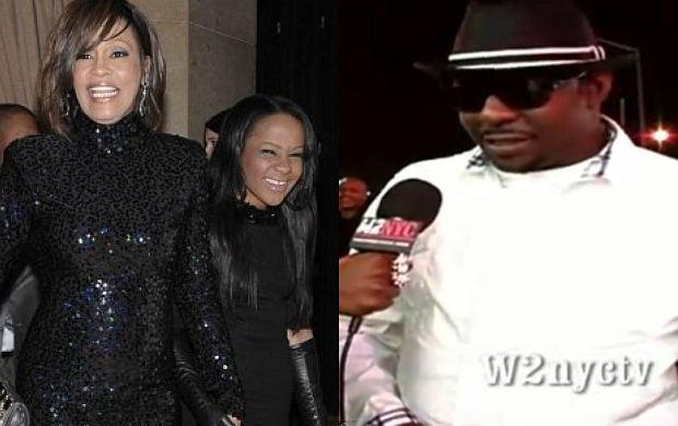 Whitney Houston i Bobbi Kristina, Bobby Brown.