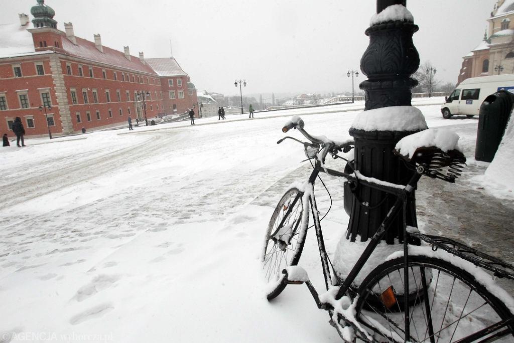 Rower na pl. Zamkowym