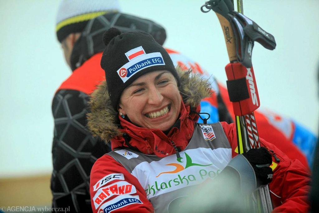 Justyna Kowalczyk podczas Pucharu Świata w Szklarskiej Porębie - Jakuszycach