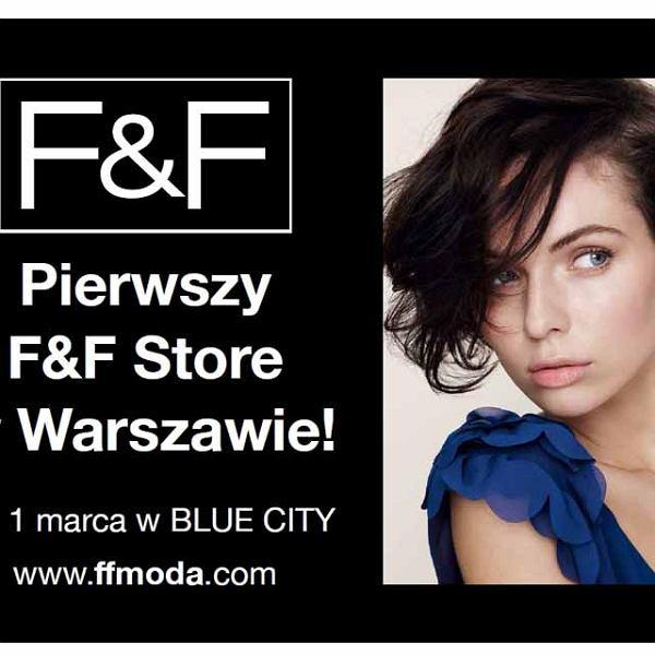 F&F otwiera swój pierwszy, samodzielny sklep