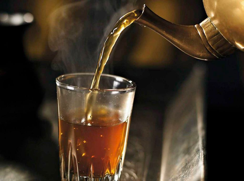 Miętowa herbata z szałwią i tymiankiem