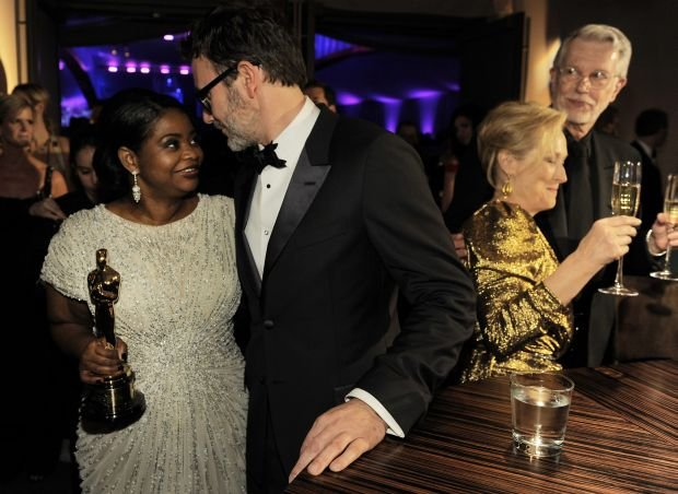 Octavia Spencer, Michel Hazanavicius