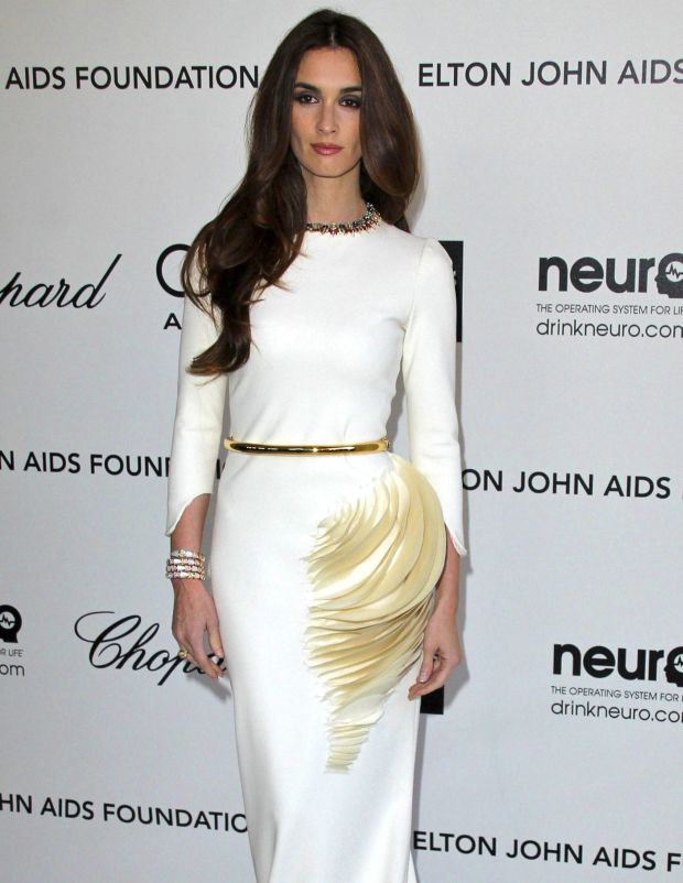 ??NATIONAL PHOTO GROUP   20th Annual Elton John AIDS Foundation Academy Awards Viewing Party at the  Pacific Design Center in West Hollywood.  Job: 022712C6 Pictured: Paz Vega   .  February 26th, 2012 Los Angeles, CA  NPG.com