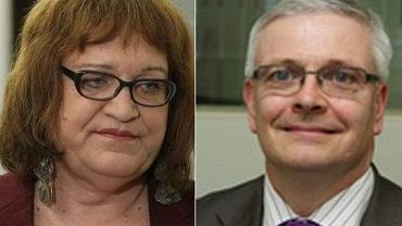 Anna Grodzka i ambasador Wielkiej Brytanii w Polsce, Robin Barnett