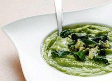 Zupa krem kalafiorowo-brokułowa z niebieskim serem - ugotuj